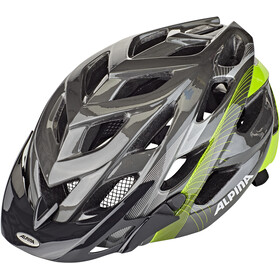 Alpina D-Alto Kask rowerowy, anthracite-neon lines